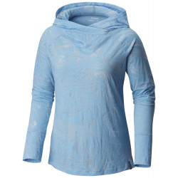 See Inner Luminosity II Hoodie in Blue Sky Burnou