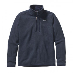 See Better Sweater 1/4 Zip M in Classic Navy