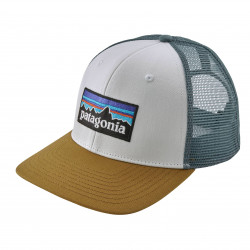 See P-6 Logo Trucker Hat in WHIK Brown