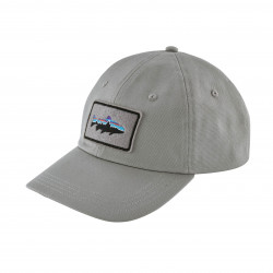 See Fitz Roy Trout Patch Trad Cap in DFTG Grey