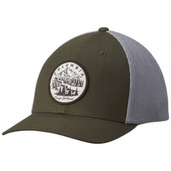 See Columbia Mesh Ballcap in Surplus Green