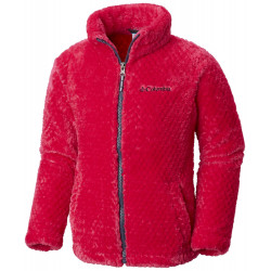 See Fluffy Fleece Full Zip G in Cactus Pink, No