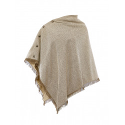 See Hazelwood Poncho W in Sable