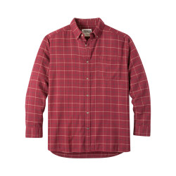 See Downtown Flannel Shirt in Raisin