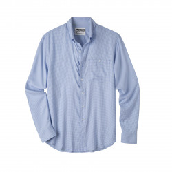 See Passport EC Long Sleeve Shirt in Larkspur