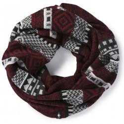 See Dazzling Wonderland Infinity Scarf in Tibetan Red