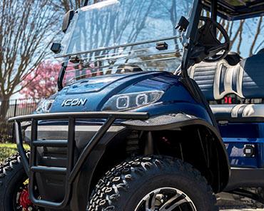 ICON i40 FL golf cart