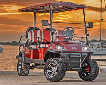 ICON I60 golf cart