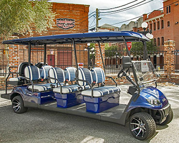 ICON i80 golf cart