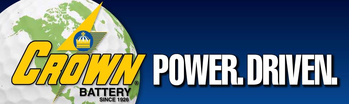 Crown Battery. Power. Driven.