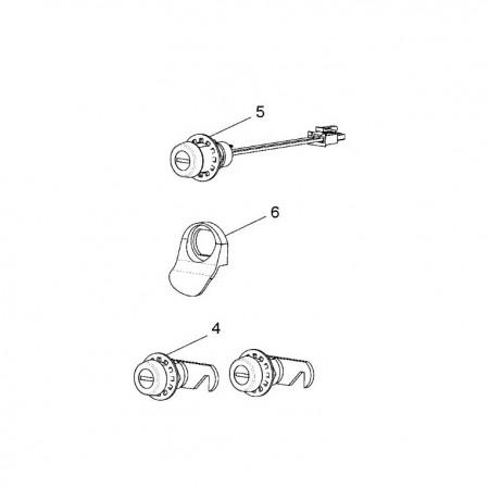 Key Switch Kit Without T-Handle alternate img #1