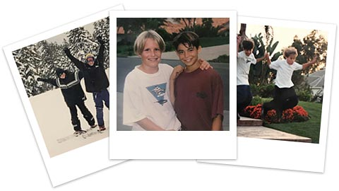 Justin and Will, the early years