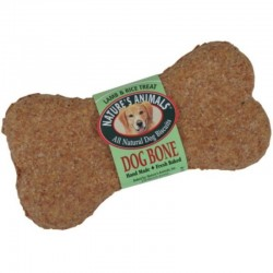 Natures Animals Dog Bone All Natural Dog Biscuits - Lamb & Rice Treat Image