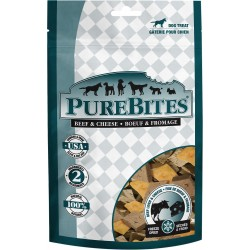 PureBites Beef Liver and Cheese Freeze Dried Dog Treats Image