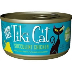 Tiki Cat Succulent chicken Cat Food Image