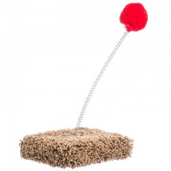 North American Cat Toy On Spring Image