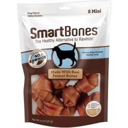 SmartBones Mini Chicken and Peanut Butter Bones Rawhide Free Dog Chew Image