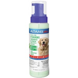 Adams Foaming Flea And Tick Shampoo with Aloe And Cucumber  Image