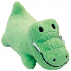 Li'l Pals Ultra Soft Plush Gator Squeaker Toy Image