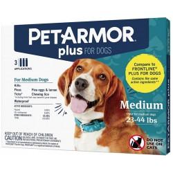 PetArmor Plus Flea and Tick Treatment for Medium Dogs (23-44 Pounds) Image