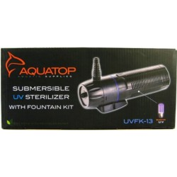 Aquatop Submersible Pond UV Filter with Fountain Kit - UVFK Series Image