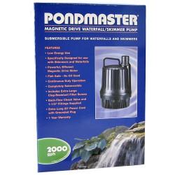 Pondmaster Magnetic Drive Waterfall / Skimmer Pump Image