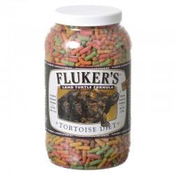 Flukers Land Turtle Formula Tortoise Diet - Large Pellet Image