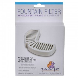 Pioneer Replacement Filters for Stainless Steel and Ceramic Fountains Image
