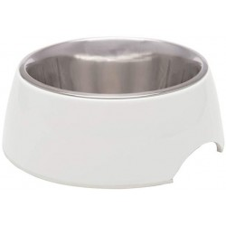 Loving Pets Ice White Retro Bowl Image