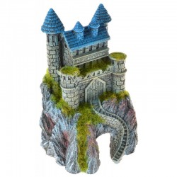 Exotic Environments Mountain Top Castle with Moss Image