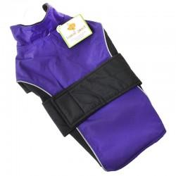 Lookin' Good Waterproof Reflective Dog Coat - Purple Image