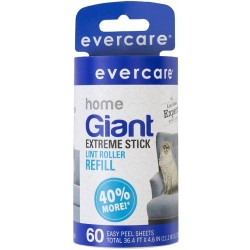 Evercare Giant Pet Hair Roller & Refill Image