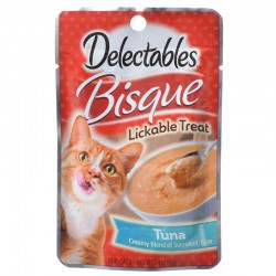 Hartz Delectables Bisque Lickable Treat for Cats - Tuna Image