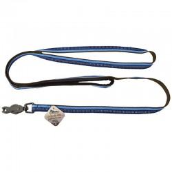 K9 Explorer Reflective Leash with Scissor Snap - Sapphire Image