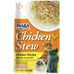 Inaba Chicken Stew Chicken Recipe Side Dish for Cats Image