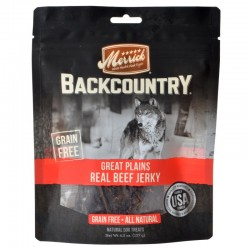 Merrick Backcountry Great Plains Real Beef Jerky Image
