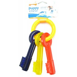 Nylabone Puppy Chew Teething Keys Toy Image