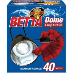 Zoo Med Betta Dome Lamp Fixture Image