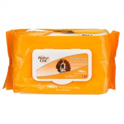 Deodorizing Bath Wipes for Dogs Image