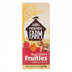 Tiny Friends Farm Russel Rabbit Fruities with Cherry & Apricot Image