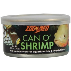 Zoo Med Can O Shrimp High Protein Food for Aquarium Fish & Invertebrates Image