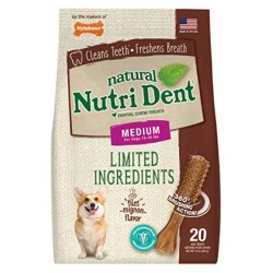Nylabone TFH Nutri Dent Filet Mignon Flavor Dog Chews for Medium Dogs Image