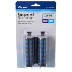 Aqueon Replacement Filter Cartridges for QuietFlow Filters - Large Image