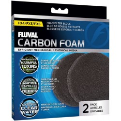 Fluval FX5/6 Replacement Carbon Impregnated Foam Pad Image