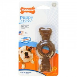 Nylabone Puppy Chew Rings - Chicken Flavored Image