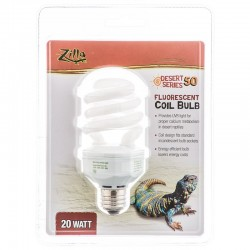 Zilla Desert 50 Fluorescent Coil Bulb with UVB Image