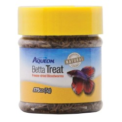 Aqueon Betta Treat Freeze Dried Bloodworms Image