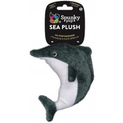 Spunky Pup Sea Plush Dolphin Dog Toy Image