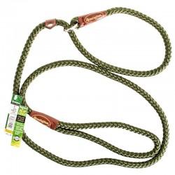 Remington Braided Rope Slip Lead Leash - Green Image