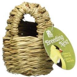Prevue Finch All Natural Fiber Covered Twig Nest Image